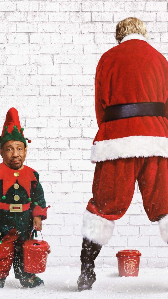 bad santa 2 santa christmas billy bob thornton tony cox vertical - Santa And Christmas 2