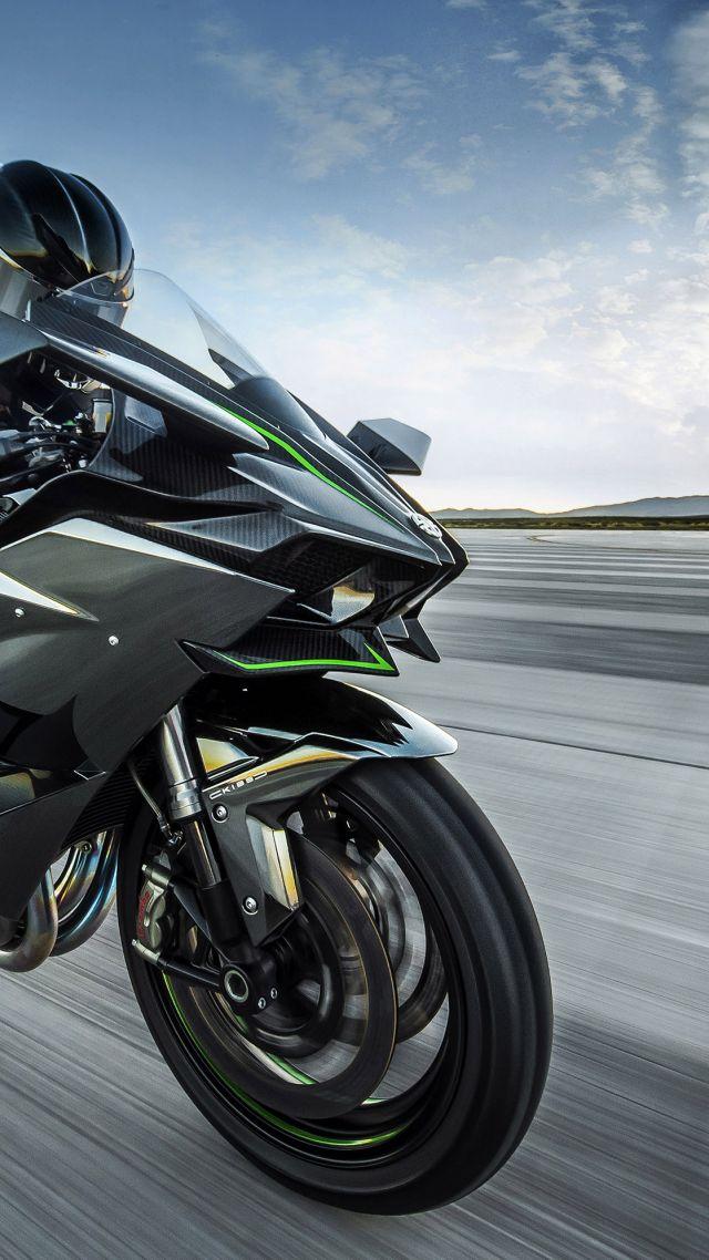 Kawasaki Ninja H2r Sport Bikes Best Motorcycle Vertical