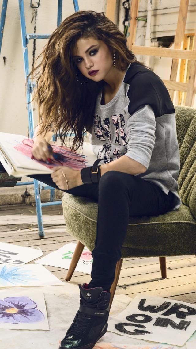 Wallpaper Selena Gomez, Selena Marie Gomez, actress, TV star