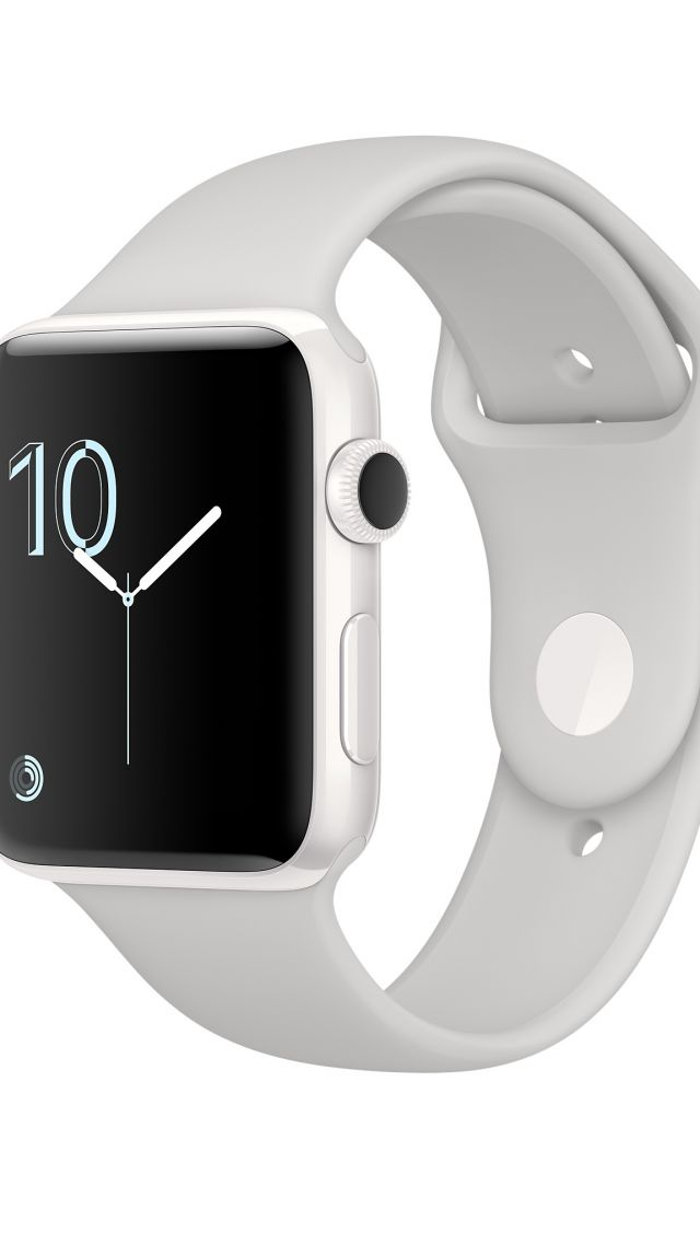 Apple Watch Series 2, smart watch, review, iWatch, wallpaper, Apple, display, silver, Real Futuristic Gadgets (vertical)