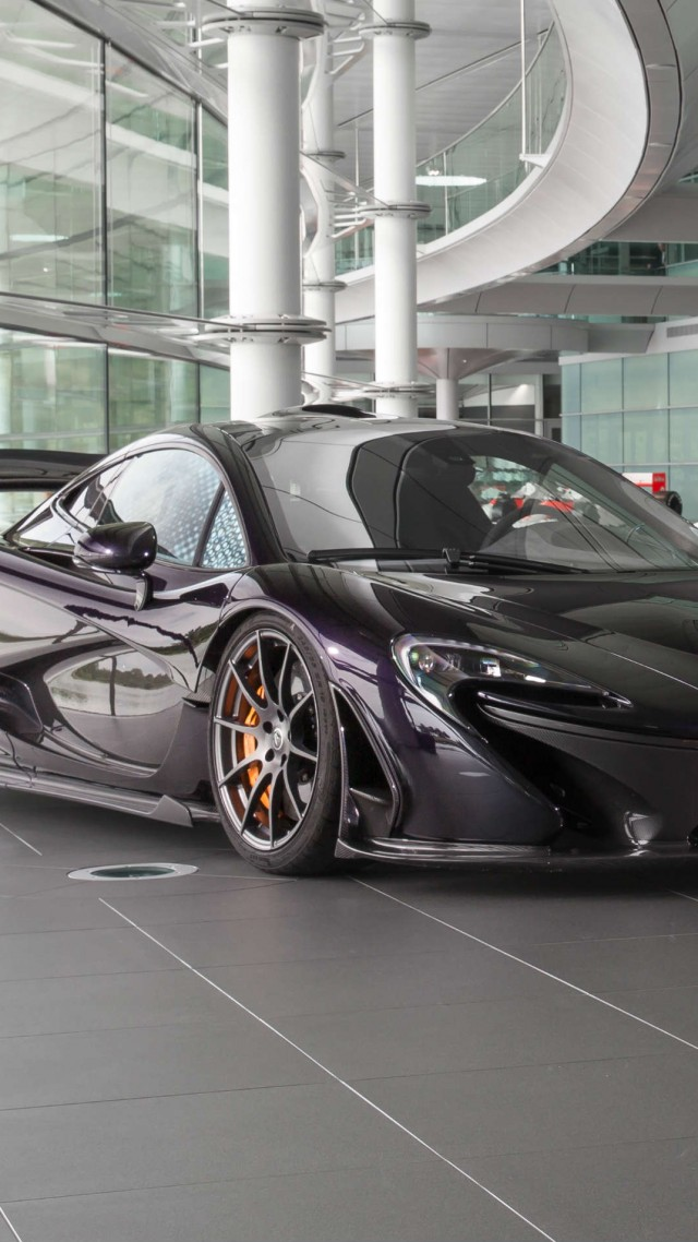 Mclaren p1, toy car, electric cars, supercar (vertical)