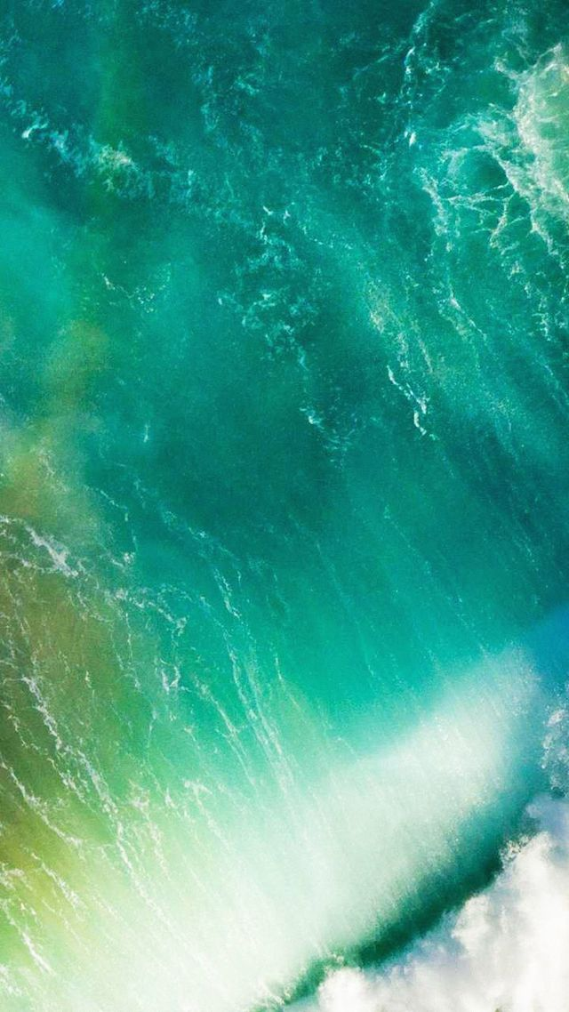 Apple, iOS 10, 4k, 5k, iphone wallpaper, live wallpaper, live photo, wave, macOS Sierra (vertical)