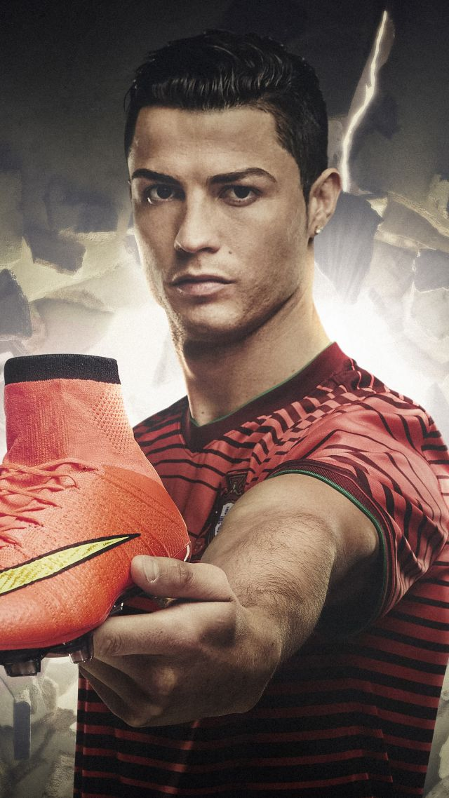 Wallpaper Cristiano Ronaldo Nike Mercurial Sport 12118