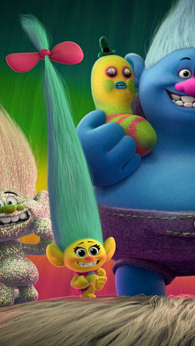 Wallpaper Trolls Best Animation Movies Of 2016 Movies 12137