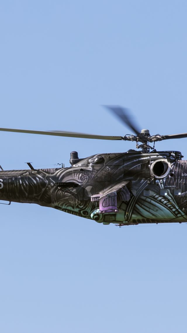 wallpaper mi24 russian army fighter helicopter russian