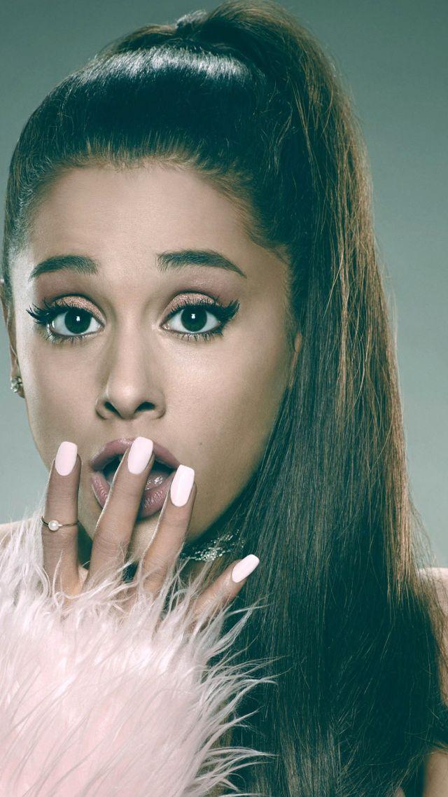 ... Ariana Grande, Top music artist and bands, singer, actress (vertical)