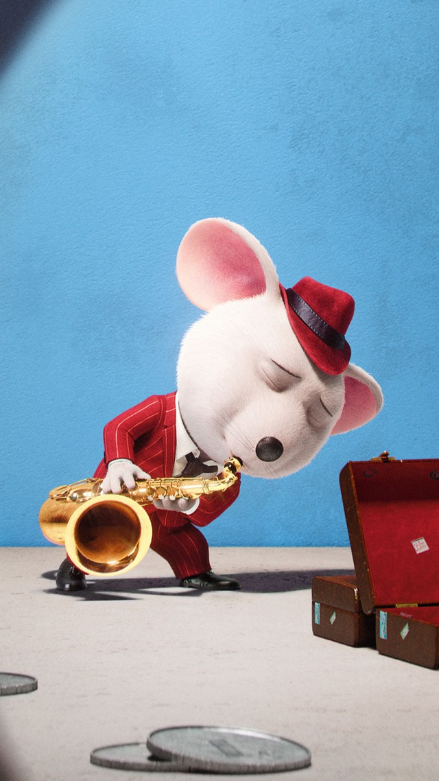 Sing, mouse, best animation movies of 2016 (vertical)