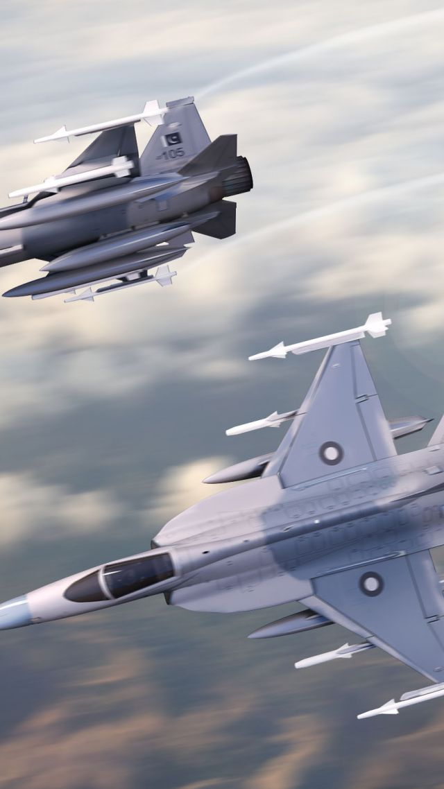 Chengdu JF-17, fighter aircraft, China air force, Pakistan Air Force (vertical)