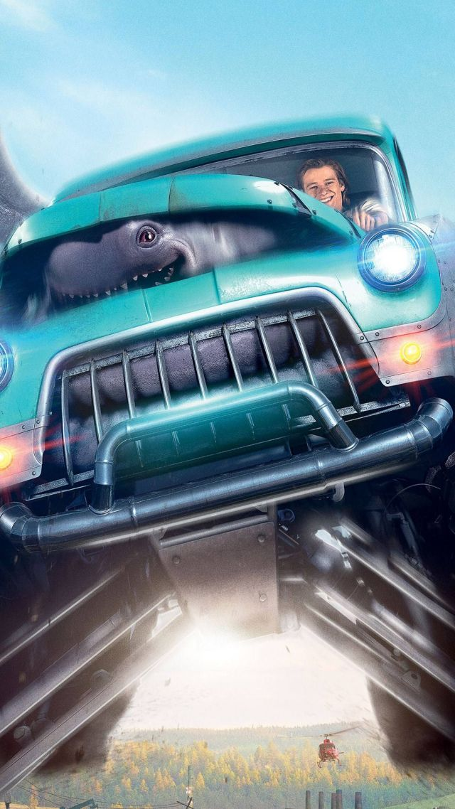 Wallpaper Monster Trucks, Lucas Till