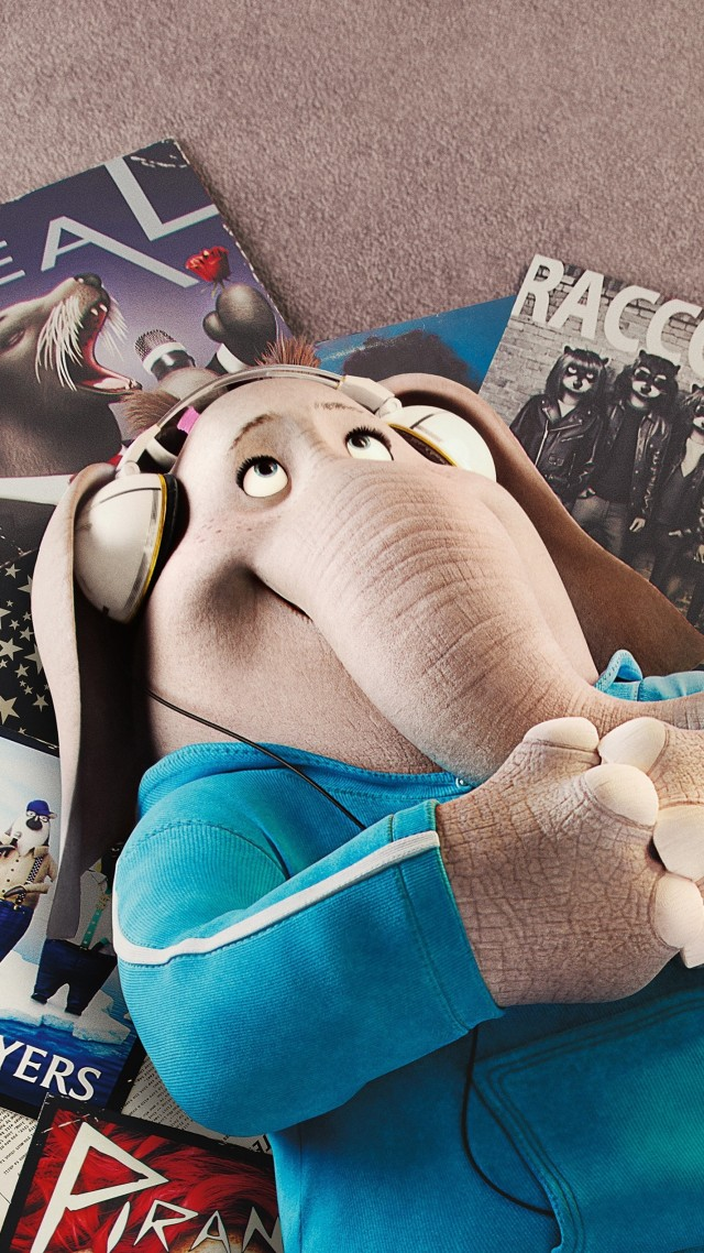 Sing, elephant, best animation movies of 2016