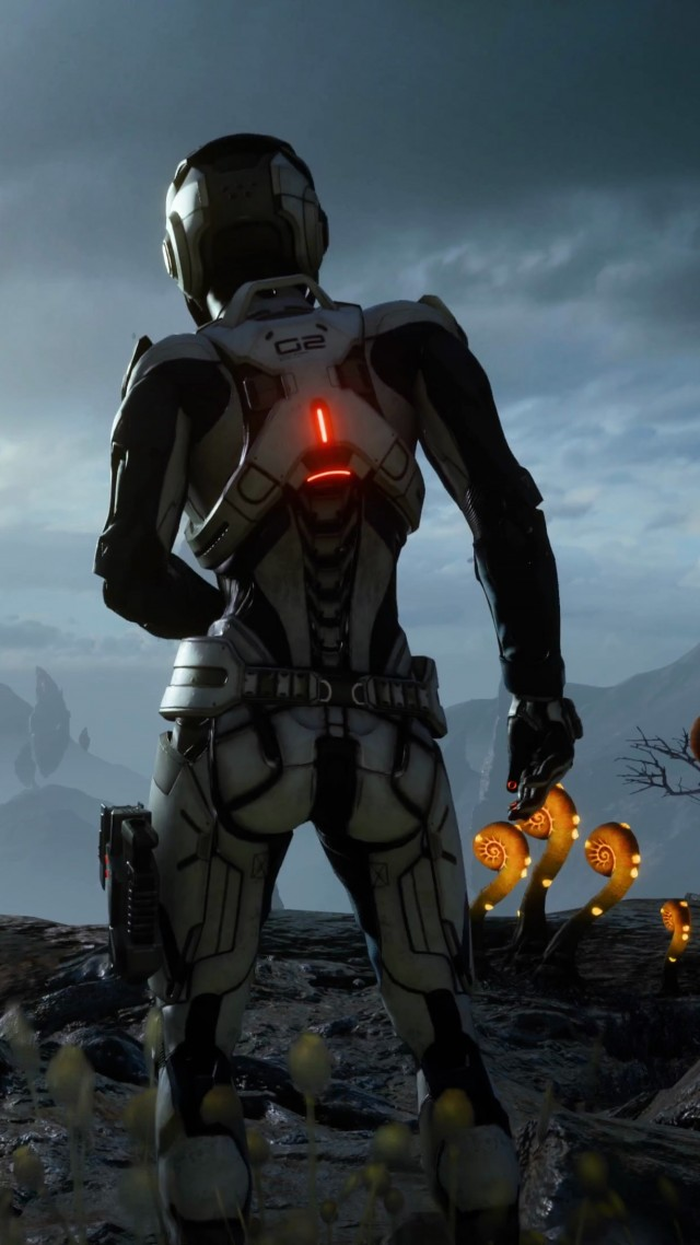 Wallpaper Mass Effect Andromeda Mass Effect Shooter Best Games