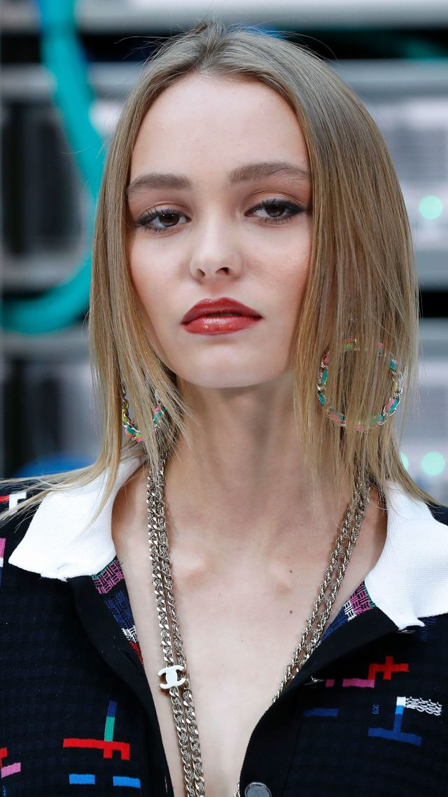 Lily-Rose Depp, Most popular celebs, model, actress