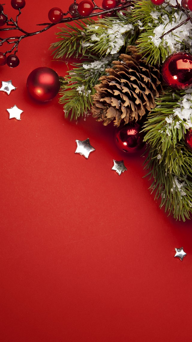 fir-tree, Christmas, New Year (vertical)