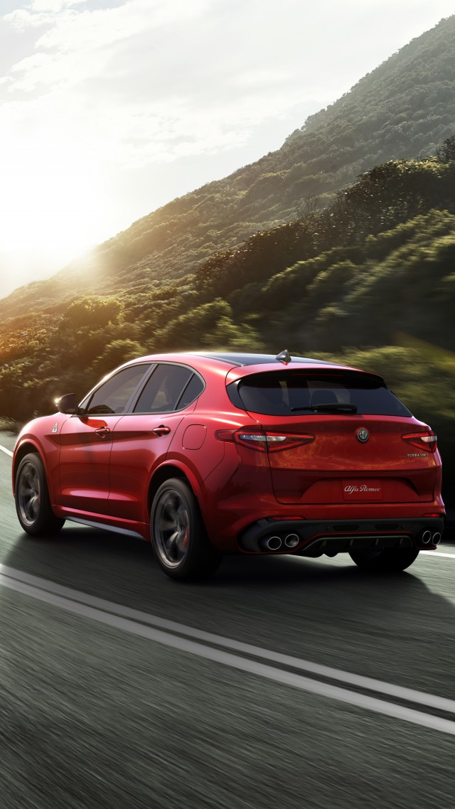 wallpaper alfa romeo stelvio quadrifoglio crossover cars bikes 12830. Black Bedroom Furniture Sets. Home Design Ideas