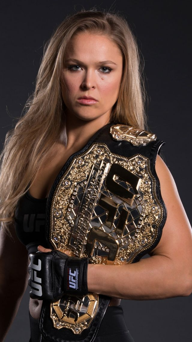 Ronda Rousey, Rowdy, UFC, MMA (vertical)