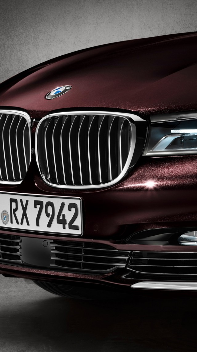 BMW M760Li xDrive, test drive, front (vertical)