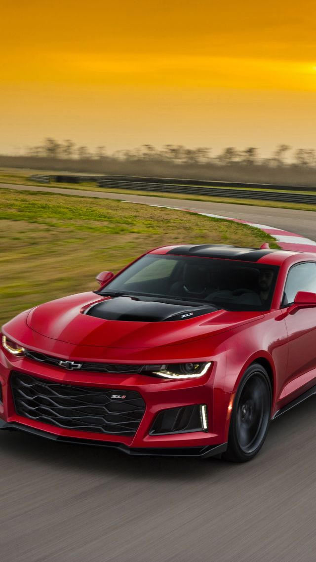 Wallpaper Chevrolet Camaro Zl1 Coupe Red Cars Amp Bikes