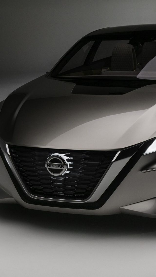 Nissan Vmotion 2.0, concept, front (vertical)