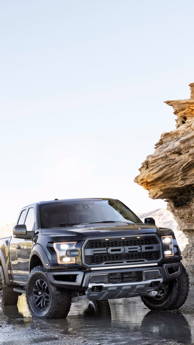 Wallpaper Ford F 150 Raptor Front Pickup Naias 2017