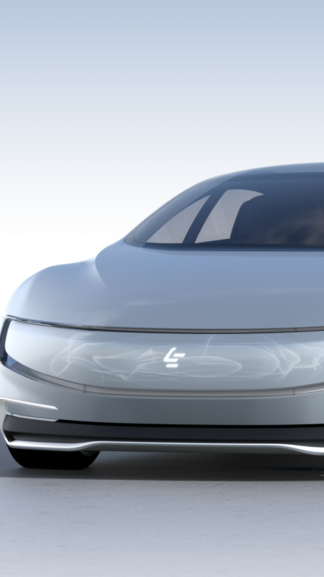 LeEco LeSEE Pro, electric car, self driving car (vertical)