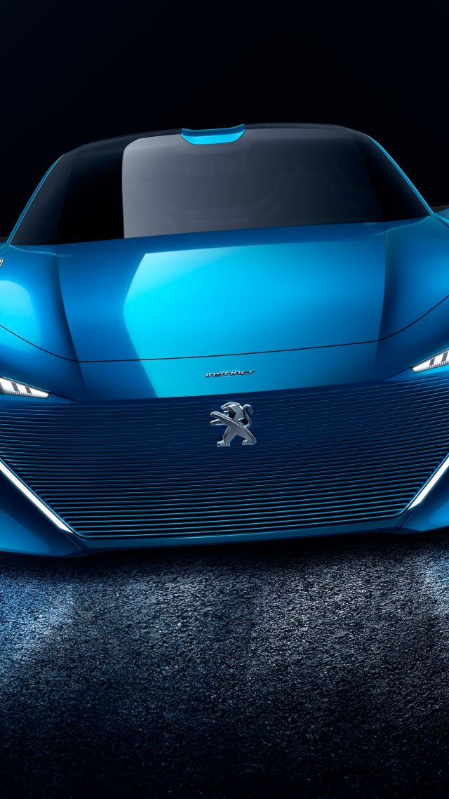 Peugeot Instinct, self driving car, Geneva Auto Show 2017 (vertical)
