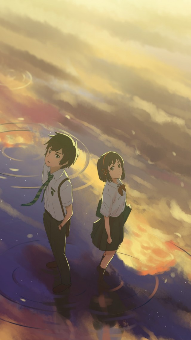 Your Name, anime, best animation movies (vertical)