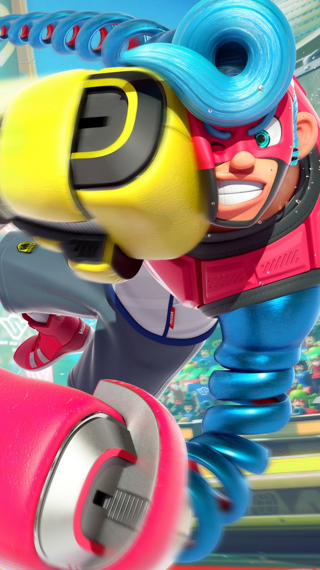 Arms, fighting, best games, Nintendo Switch (vertical)