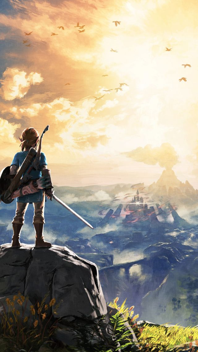 The Legend of Zelda: Breath of the Wild, best games, monster, Wii U, NX (vertical)