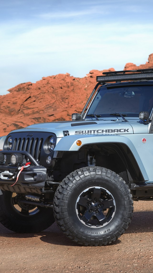 Jeep Switchback, Jeep Wrangler, SUV, concept (vertical)