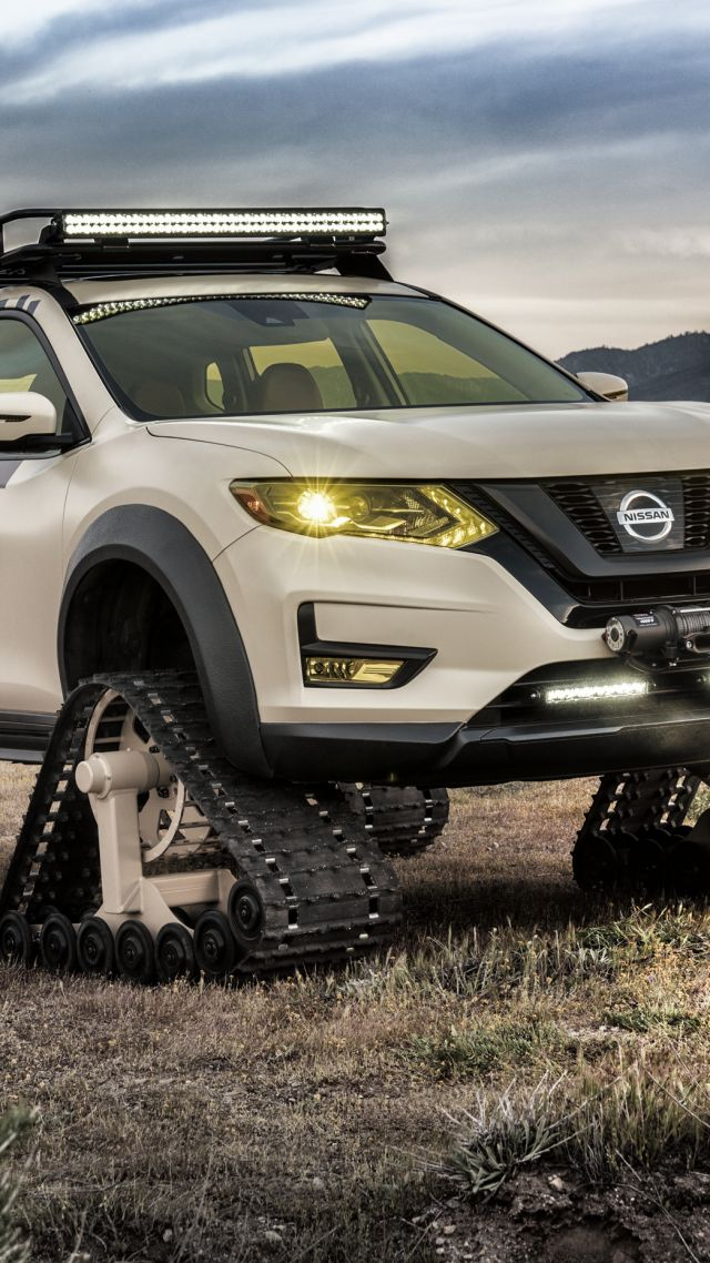 Nissan Rogue Warrior Trail, HD wallpaper, concept, SUV, 2017 New York Auto Show (vertical)