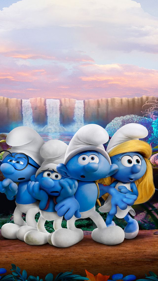 Wallpaper smurfs the lost village hefty clumsy - Hefty smurf the lost village ...