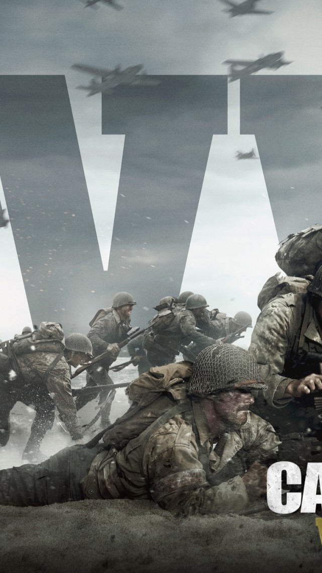 Wallpaper call of duty ww2 4k 5k poster e3 2017 - Cod ww2 4k pc ...