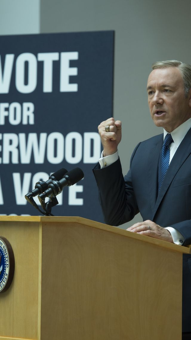 House of Cards, Best TV Series, political, Kevin Spacey, season 5, streaming, HD (vertical)
