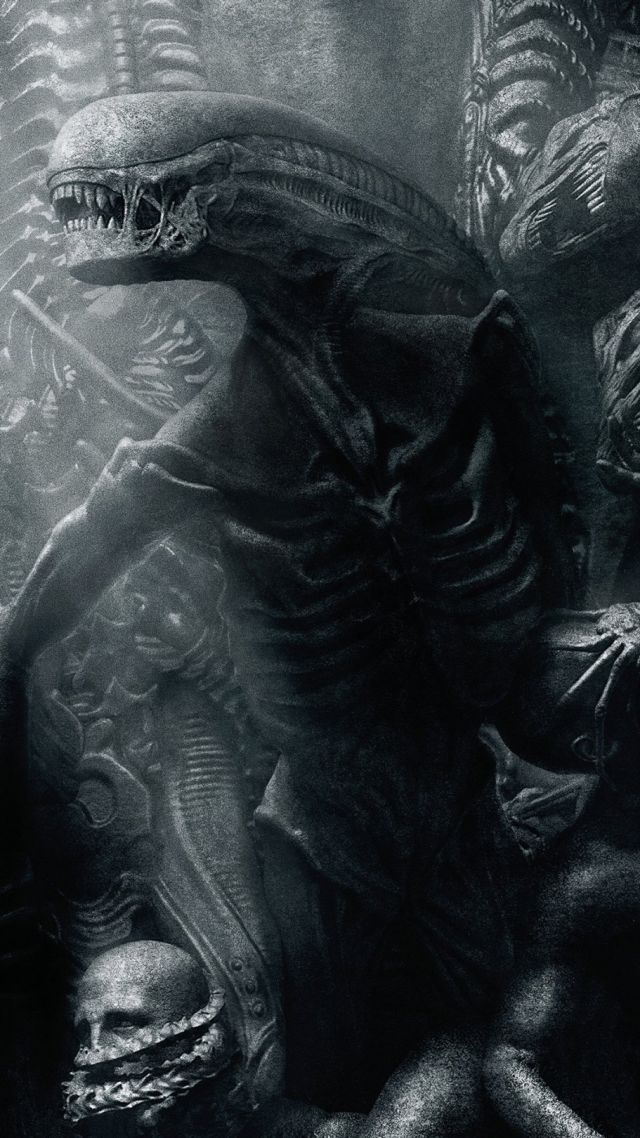 Alien: Covenant, alien, monster, best movies (vertical)