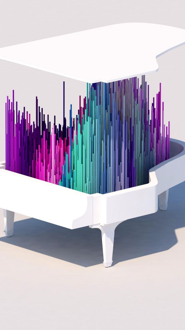 Wallpaper Piano 4k 5k Iphone Wallpaper Low Poly