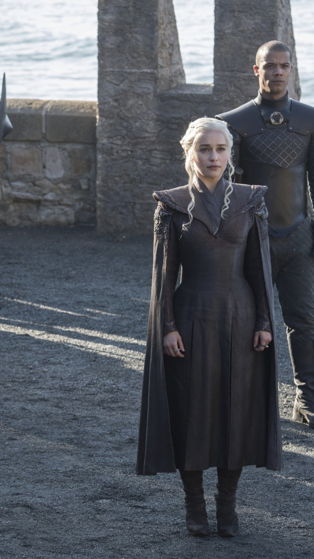 Game of Thrones, Emilia Clarke, Peter Dinklage, season 7, best tv series (vertical)