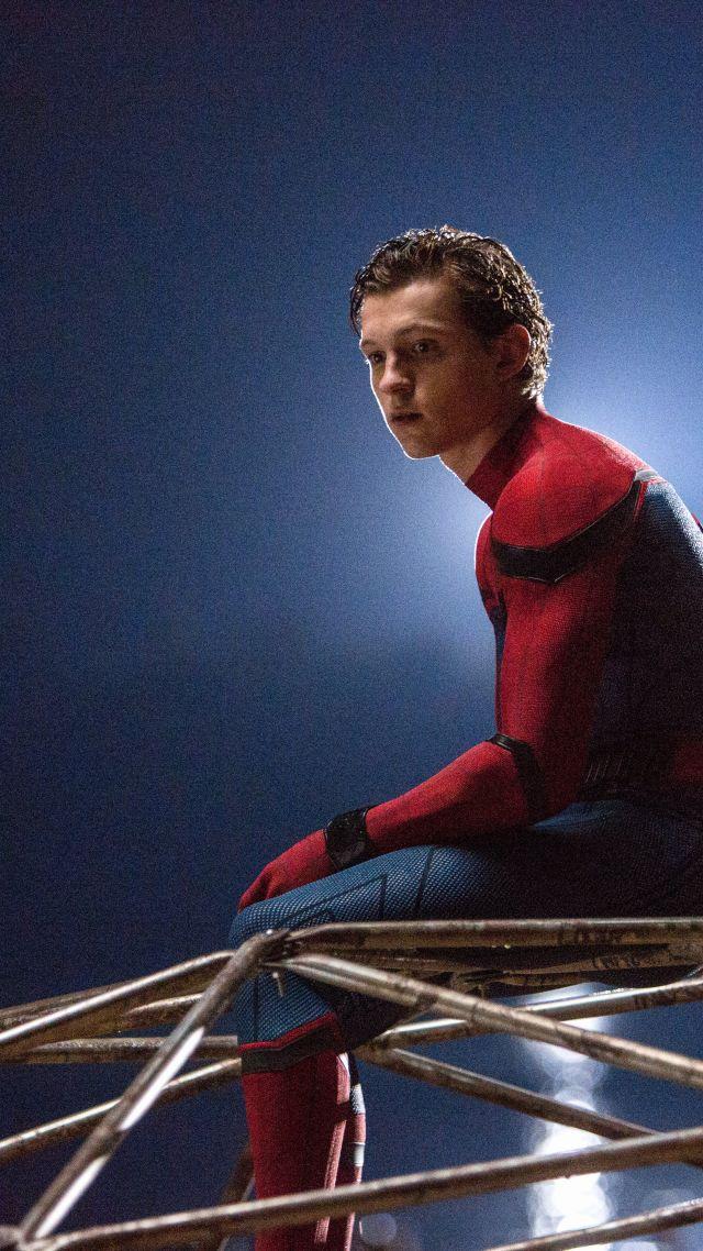 Wallpaper Spider Man Homecoming 4k 8k Tom Holland Marvel
