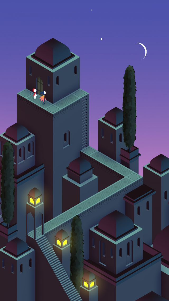 Wallpaper Monument Valley 2, 4k, screenshot, Games #13639