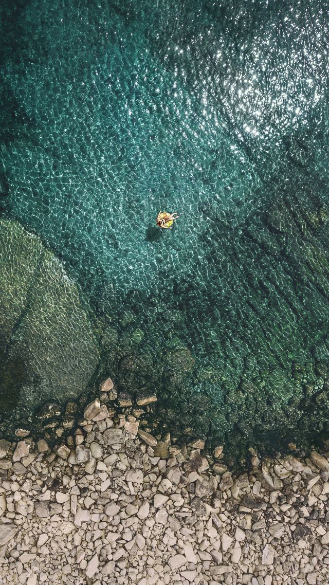 ios 8 wallpaper 4k: Wallpaper IOS 11, 4k, Sea, OS #13659