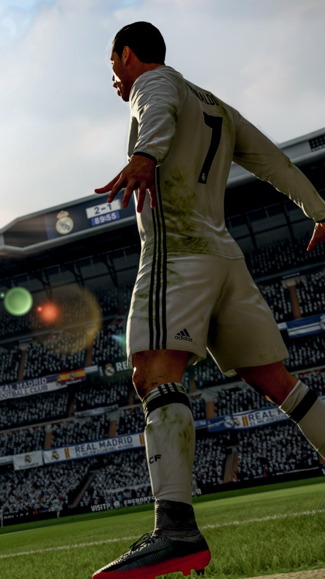 FIFA 18 4k Screenshot Poster E3 2017 Vertical