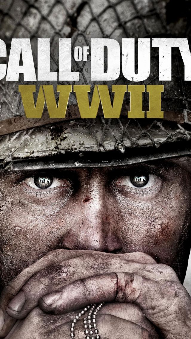 Wallpaper Call Of Duty Ww2 4k 5k Poster Screenshot E3