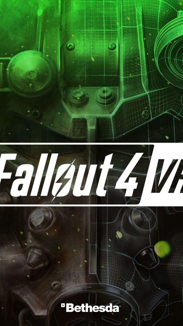 Fallout 4 VR 4k E3 2017 Vertical