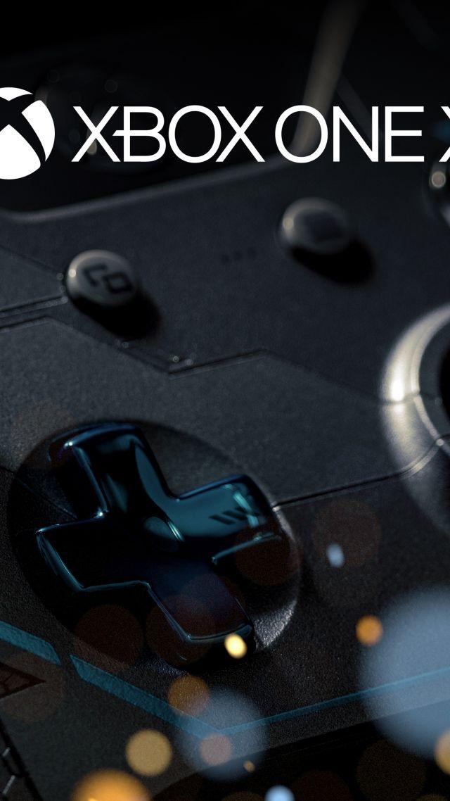 Xbox One X 4k E3 2017 Vertical