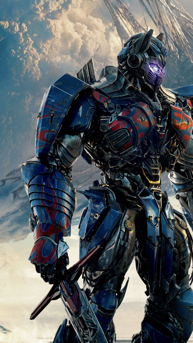 Transformers: The Last Knight, Transformers 5, 4k, 5k (vertical)