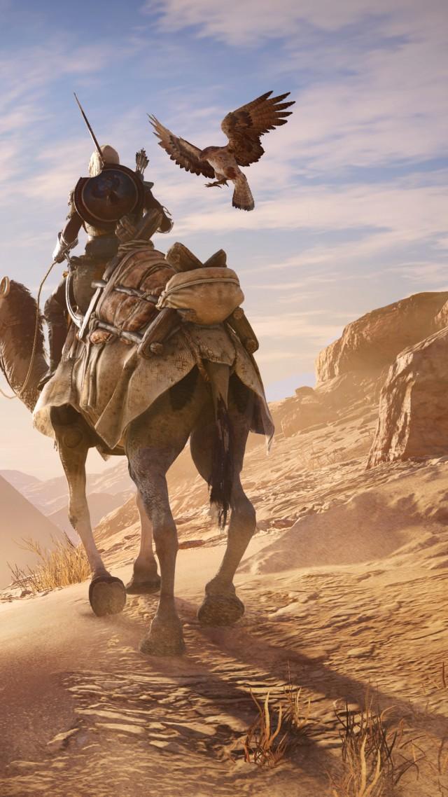 Wallpaper Assassin S Creed Origins 4k E3 2017 Screenshot Games