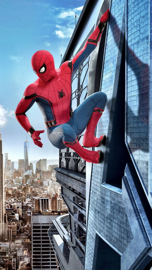 Wallpaper spider man homecoming 4k movies 13792 for Wallpaper home film