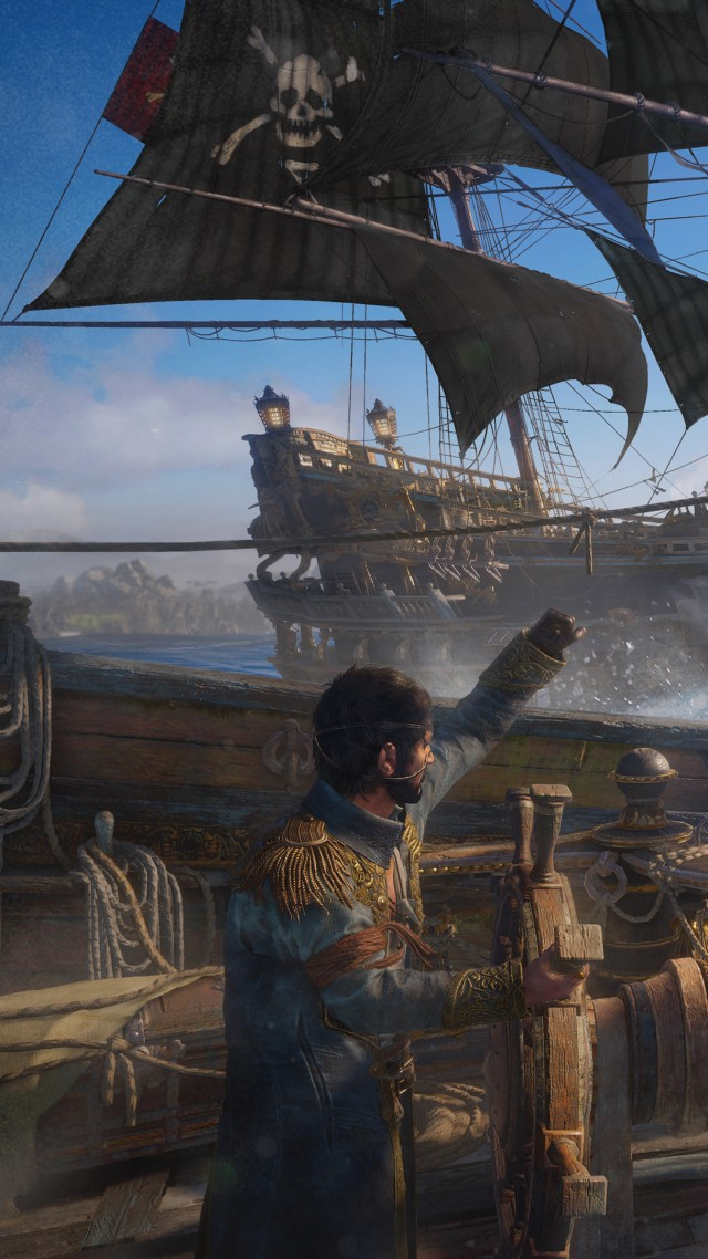 Skull and Bones, 4k, HD, E3 2017 (vertical)
