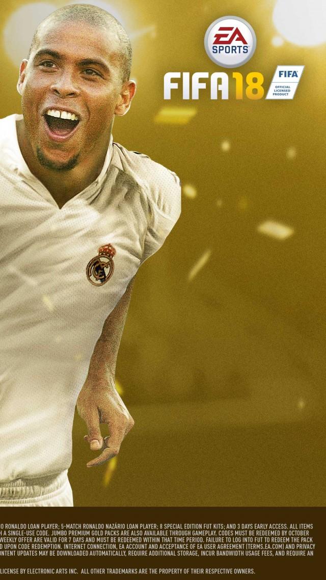 FIFA 18 4k Icon Edition Poster E3 2017 Vertical