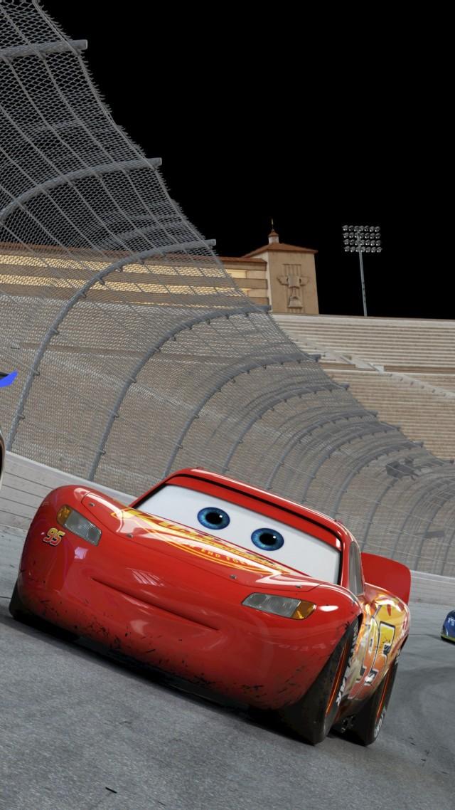 Wallpaper Cars 3, 4k, Lightning McQueen, poster, Movies #14175