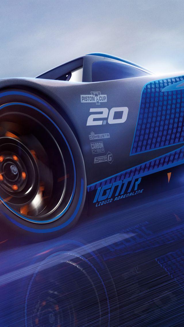 Wallpaper Cars 3, 4k, Lightning McQueen, poster, Movies #14177